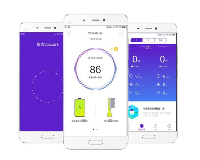 Xiaomi Soocare X3 Conectividad y uso de la App