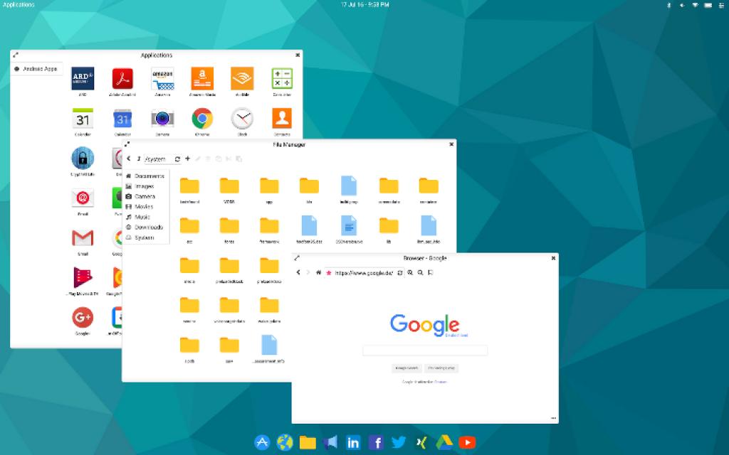 leena desktop ui multiventana