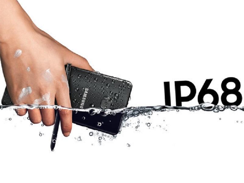 smartphones con proteccion ip68