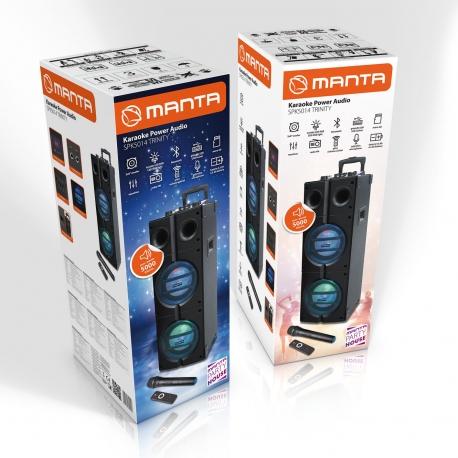 Altavoces Manta SPK5014 Trinity