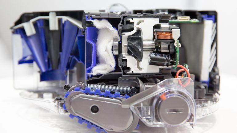 Diseño y características del Dyson 360 Eye