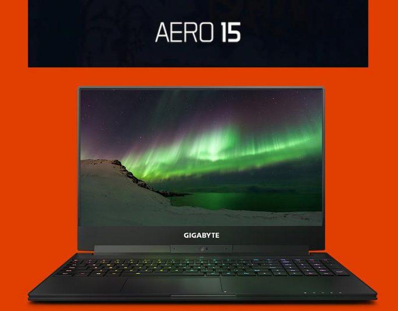 Gigabyte Aero 15