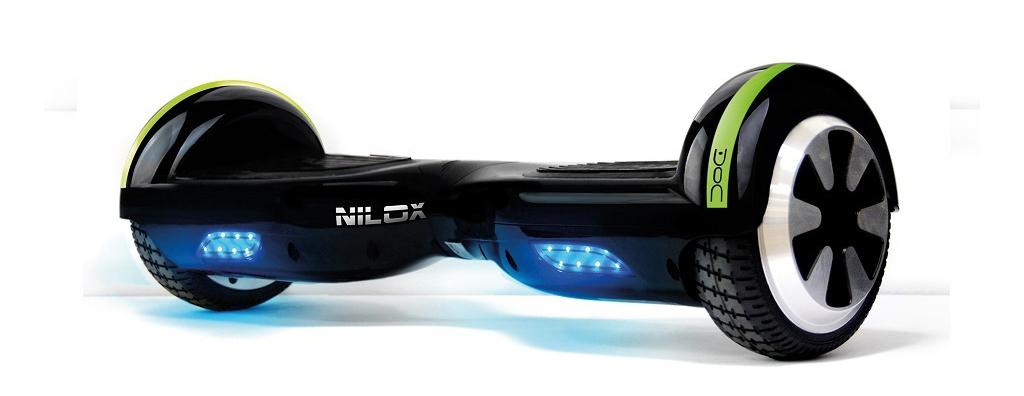 Nilox Doc, un hoverboard para mantener el equilibro