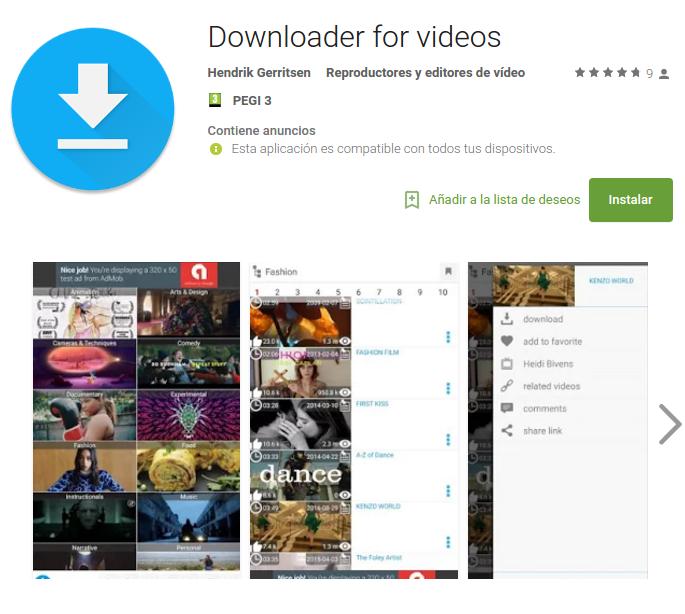 downloader for videos