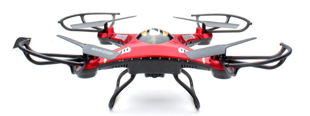 jjrc h8d drone diseño