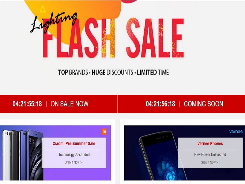 ofertas flash de gearbest