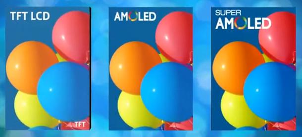 AMOLED LCD