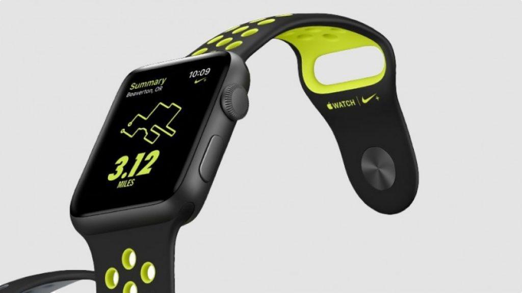 Apple Watch Series 2 Nike+, pantalla
