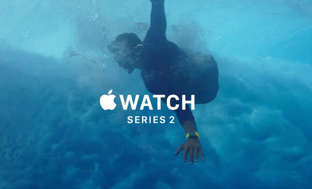 Apple Watch Series 2, agua
