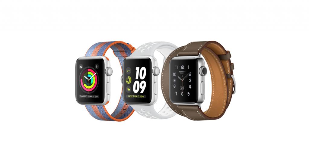 Apple Watch Series 2, pantalla