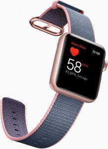 Apple Watch Series 2, sensor cardíaco