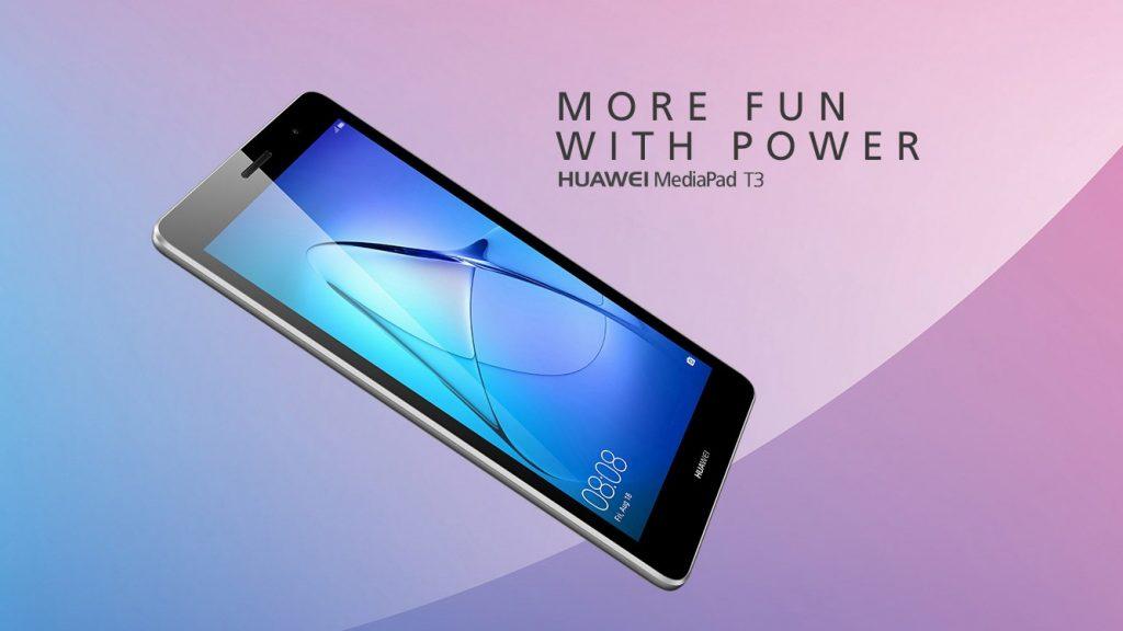Huawei MediaPad T3, color