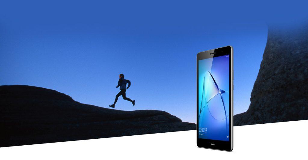 Huawei MediaPad T3, diseño