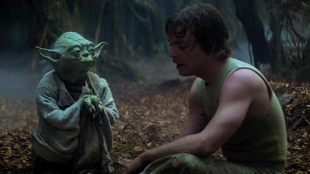 Star Wars - Yoda y Luke