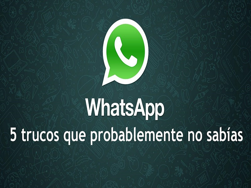 5 trucos sobre Whatsapp