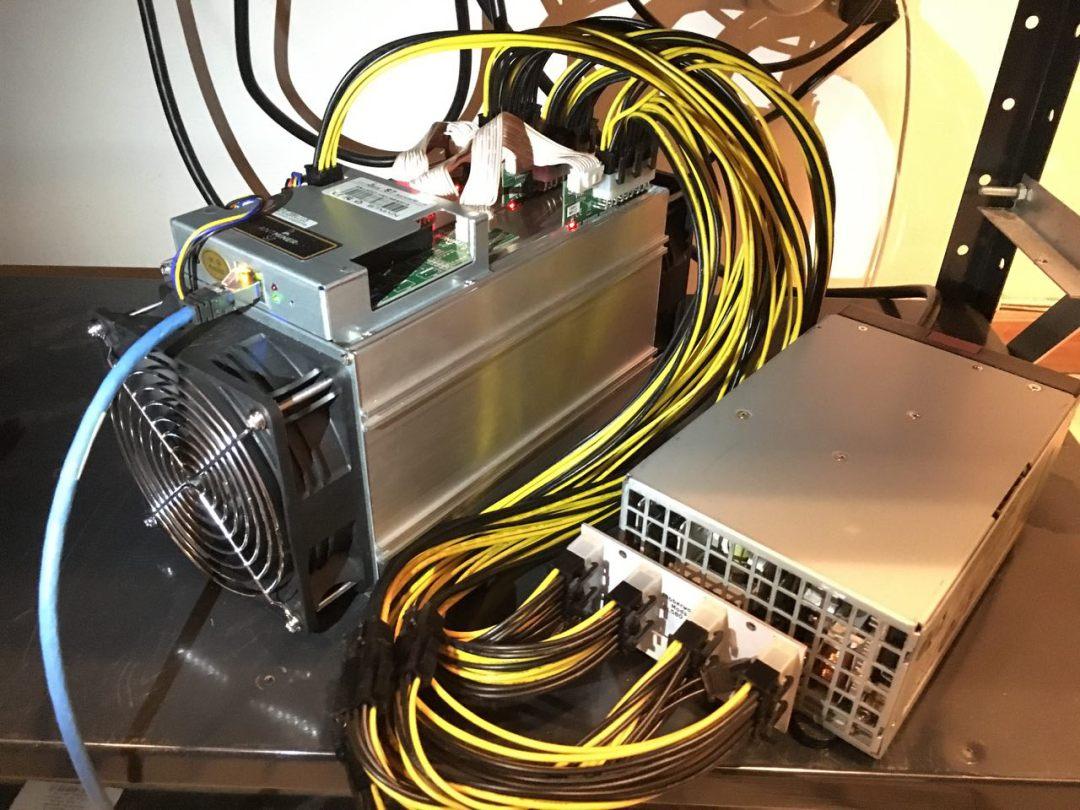 ASIC minero de bitcoins y criptomonedas