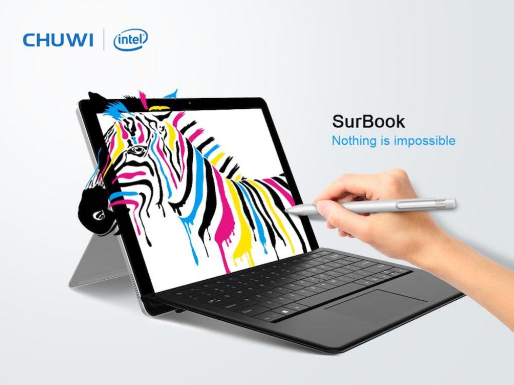 Chuwi SurBook, lápiz óptico