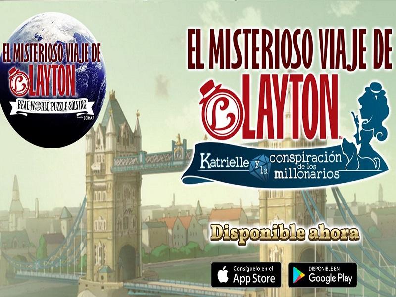 El misterioso viaje de Layton: Katrielle y la conspiracion de los millonarios