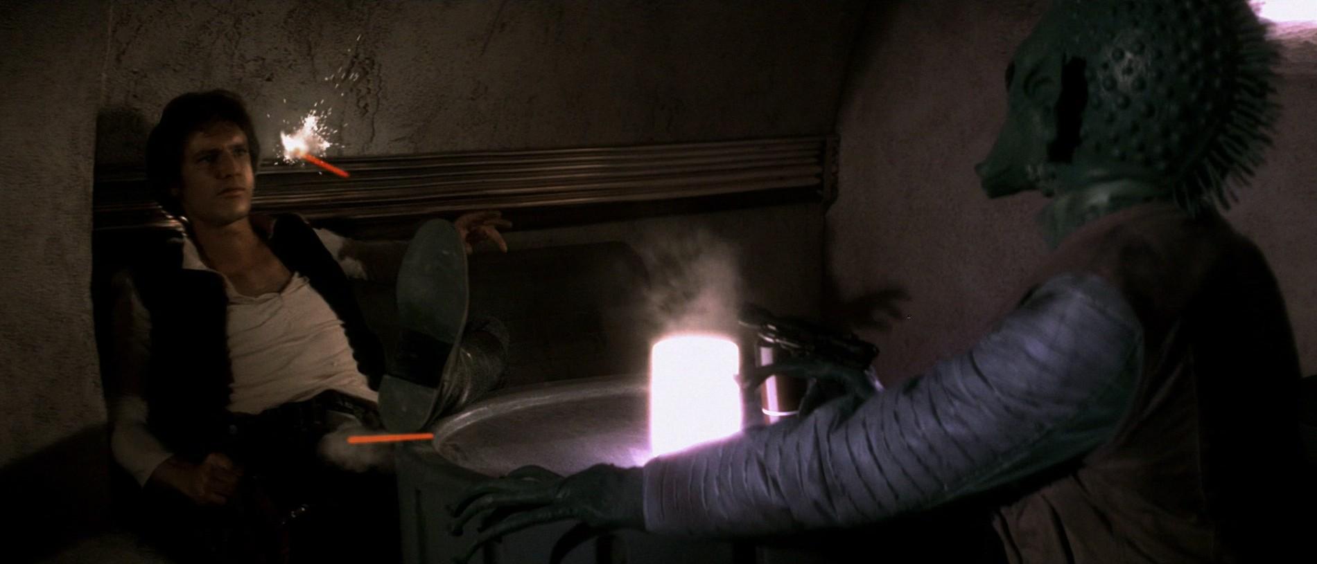 Star Wars - Han disparó primero