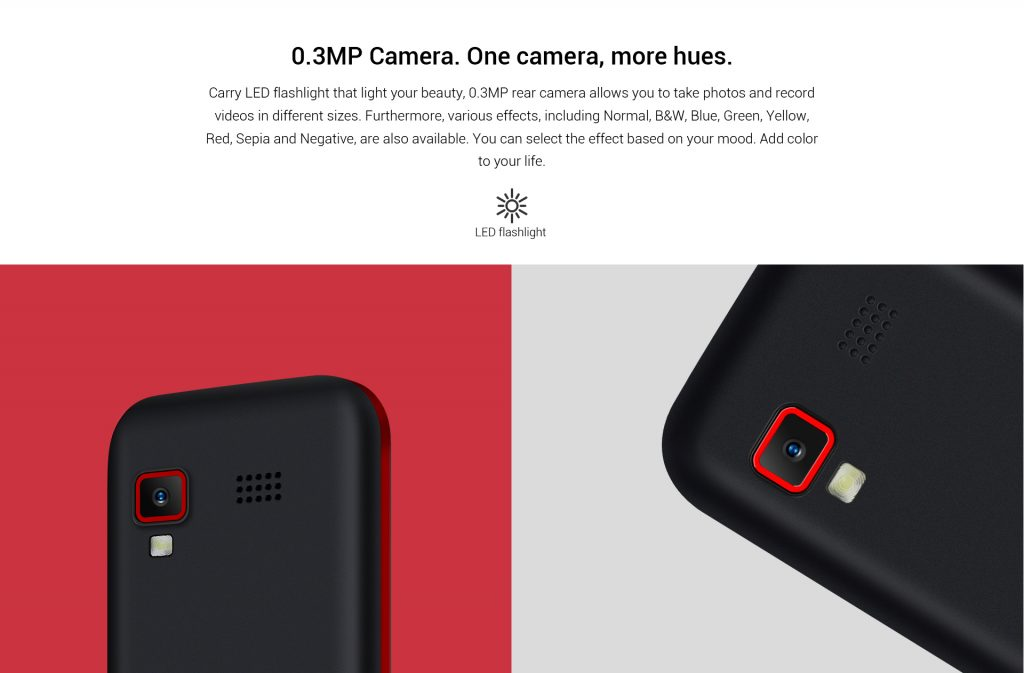 InnJoo L100, cámara