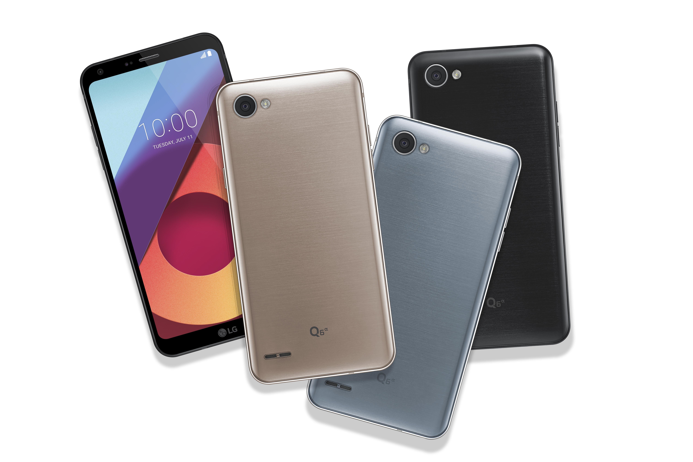 LG Q6 colores