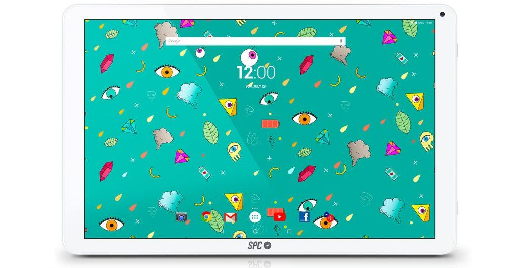 SPC Twister 10.1, pantalla
