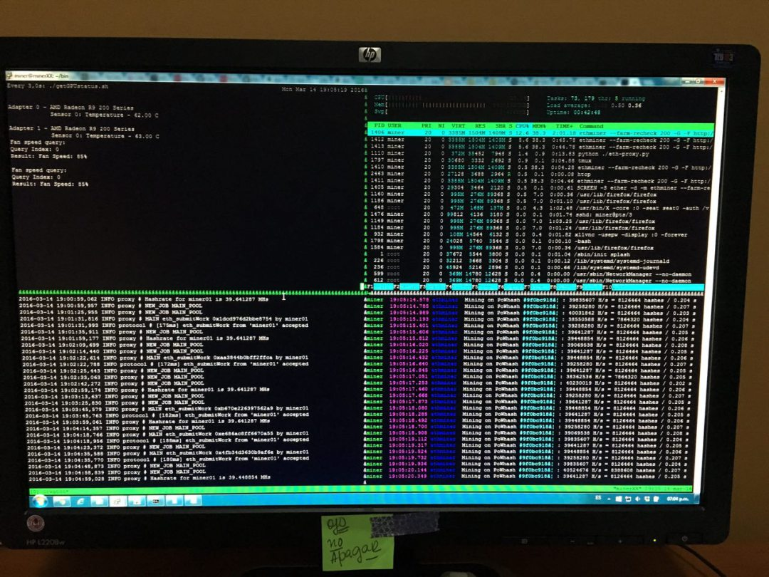 Software para Minería de Criptomonedas