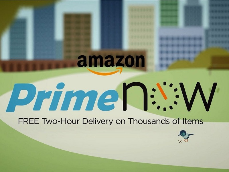 cupon descuento para Amazon Prime Now