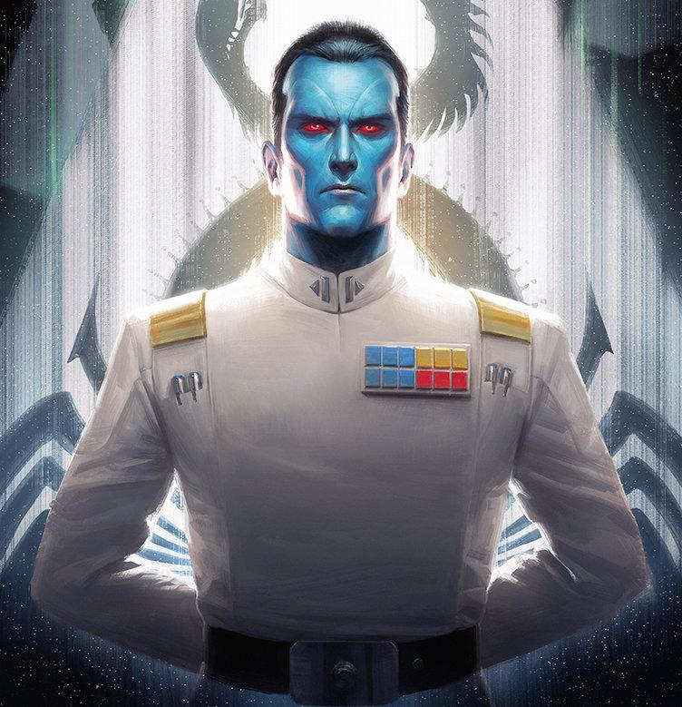 Star wars - Gran almirante Thrawn
