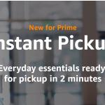 Amazon Instant Pickup destacada