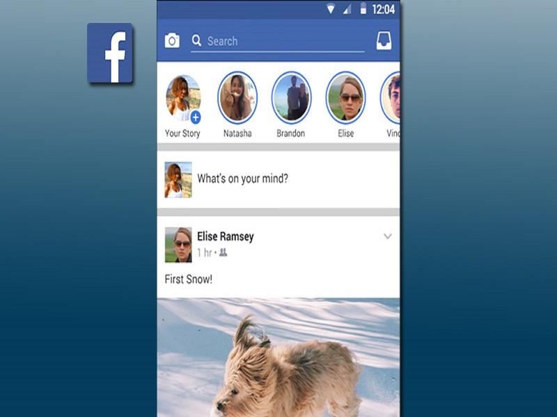 Facebook Stories para escritorio