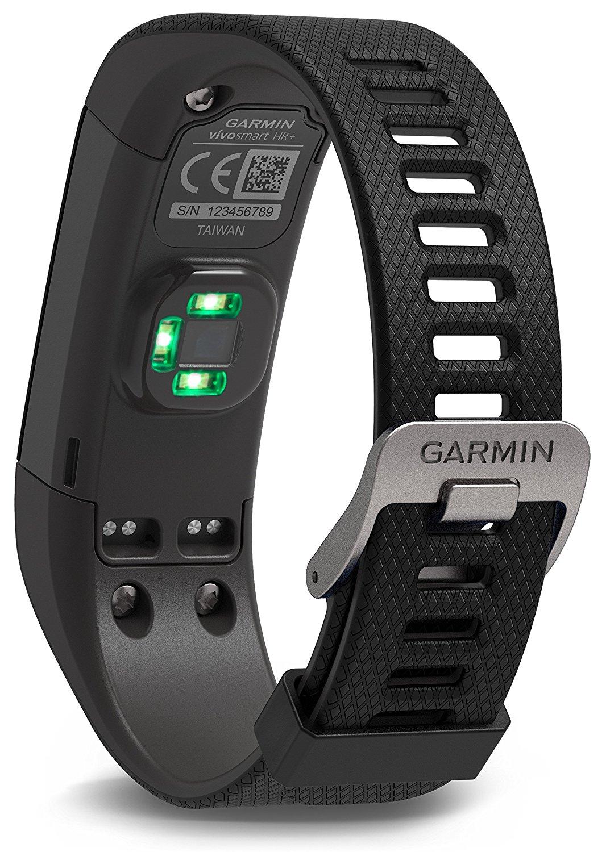 Garmin Vivosmart HR+, sensor cardíaco