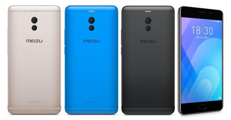 Meizu M6 Note colores