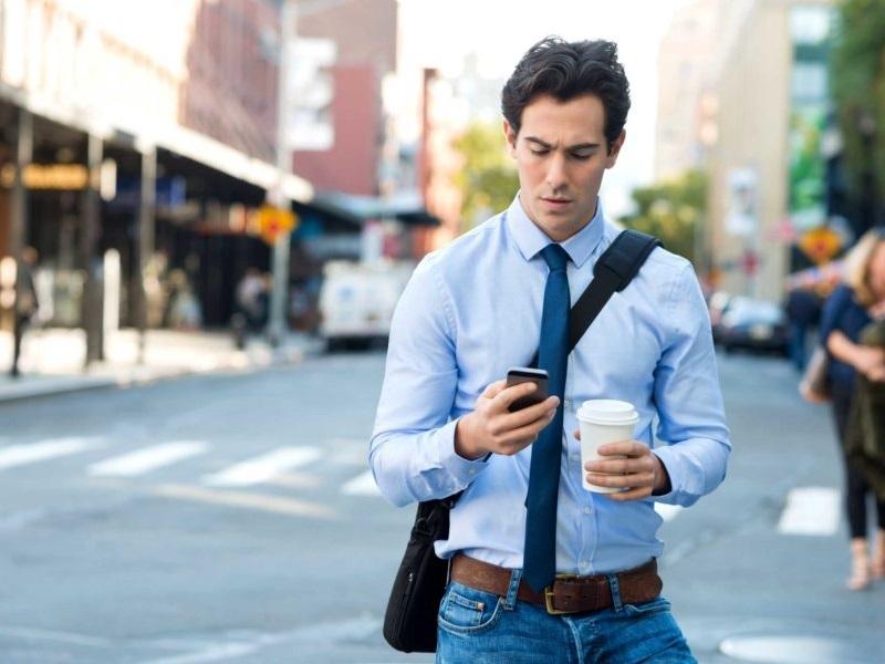 multas smartphone calle