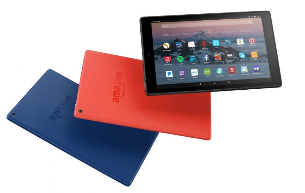 Amazon Fire HD 10 colores