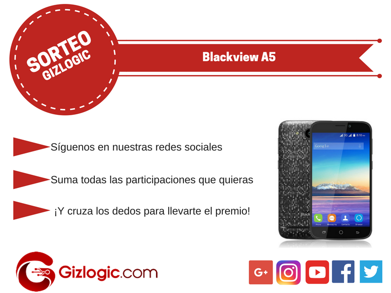 Sorteo Blackview A5