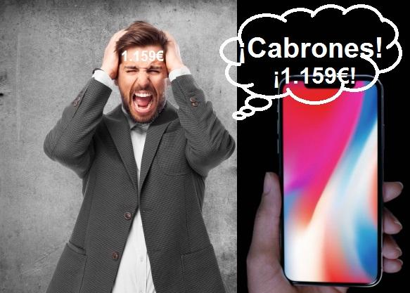 iPhone X es más caro