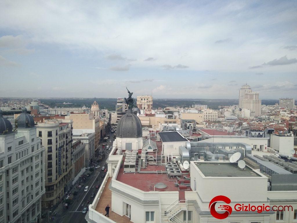 Foto tomada con el Wiko prime View