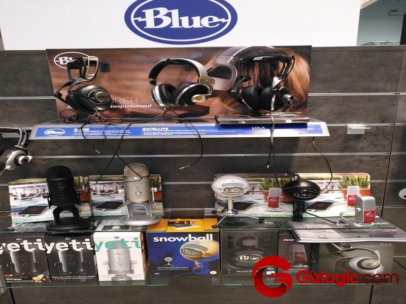 Gama de micrófonos Blue y auriculares profesionales