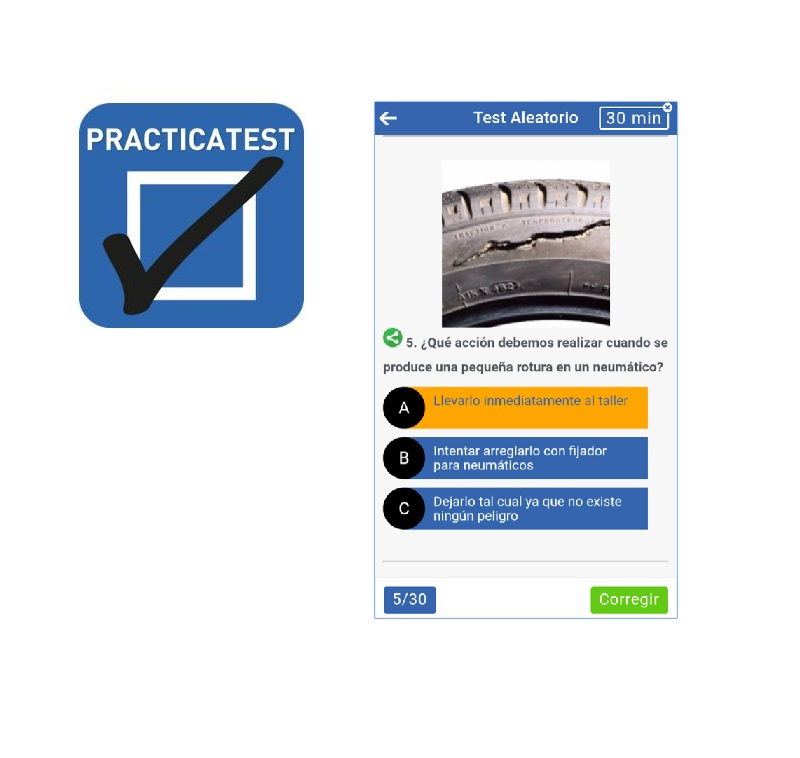 Practicatest App