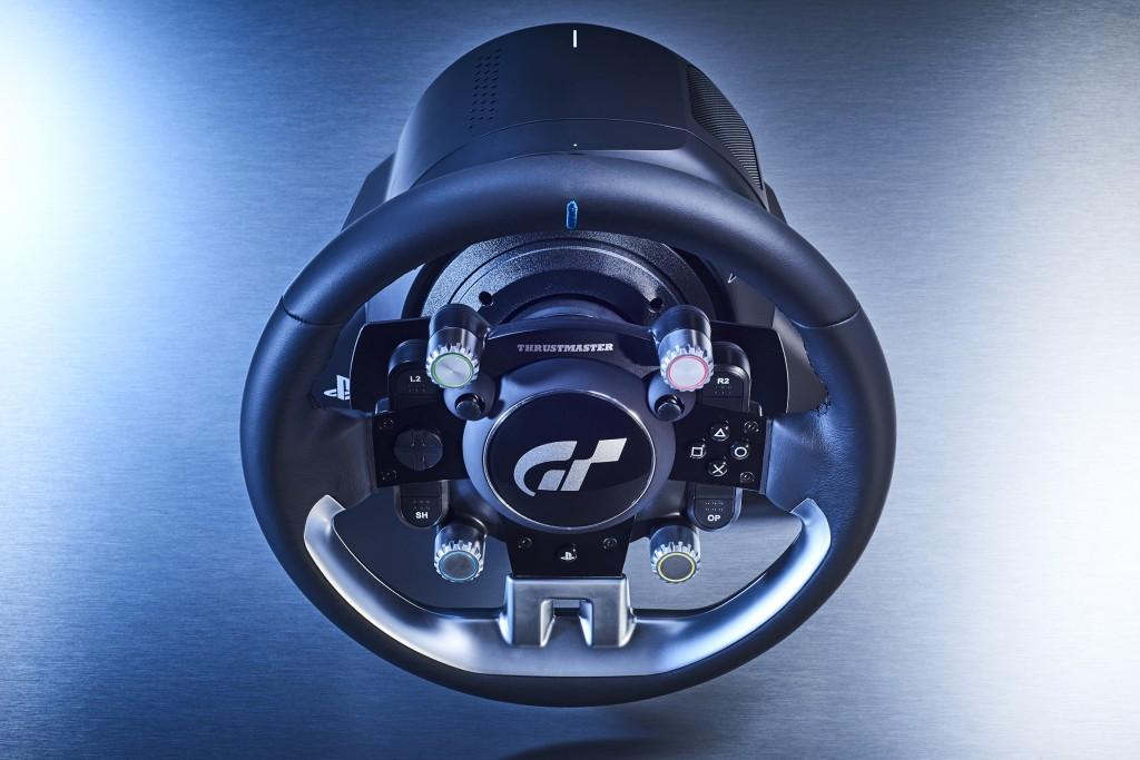 thrustmaster t gt tu nuevo volante de carreras para pc y ps4. Black Bedroom Furniture Sets. Home Design Ideas