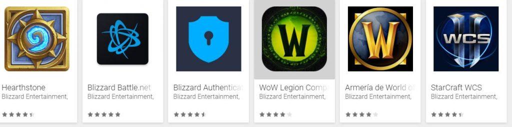 apps de Blizzard