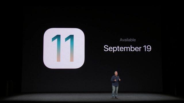 iOS 11 GM