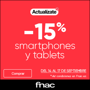 Ofertas smartphones tablets FNAC