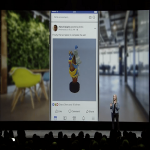 3D Posts de Facebook