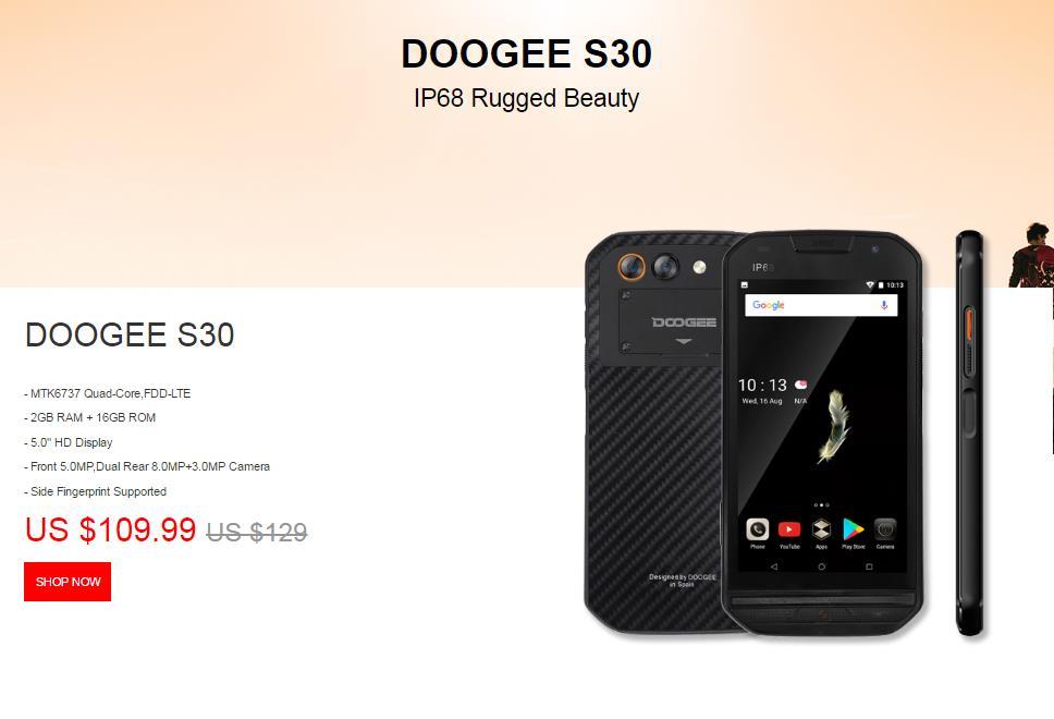 DOOGEE S30