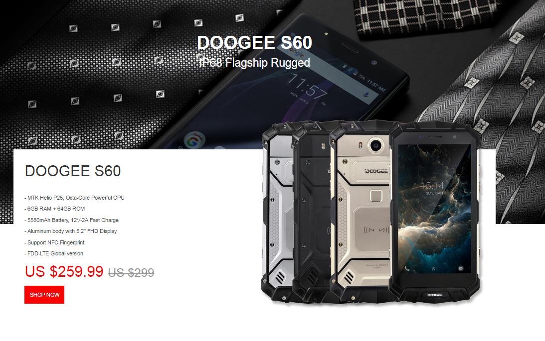 DOOGEE S60