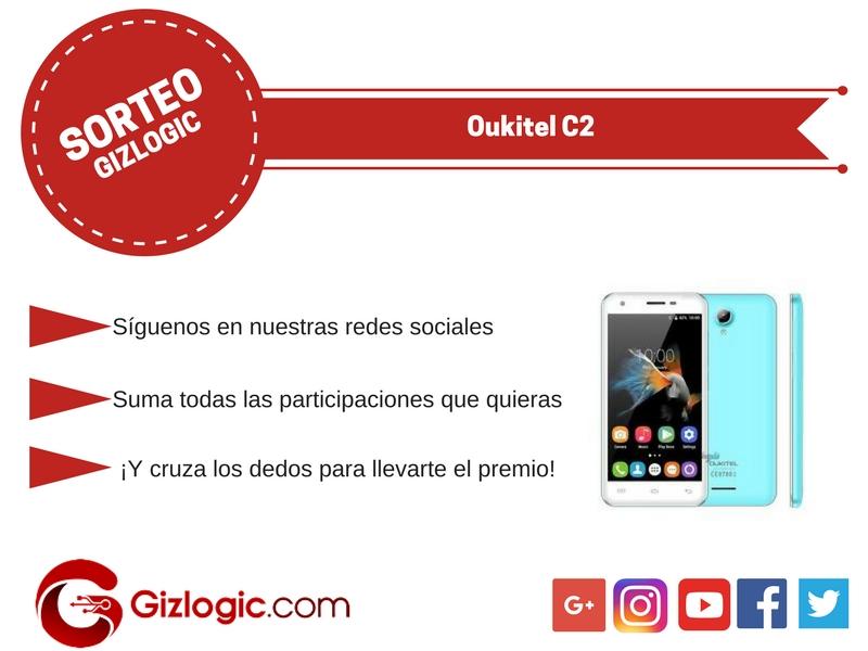 Sorteo Oukitel C2