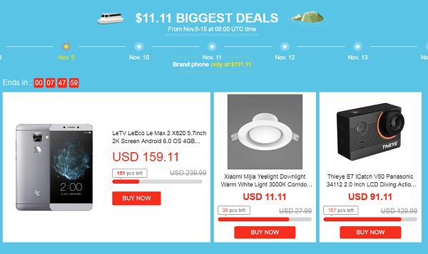 Biggest Deals Geekbuying