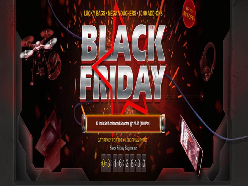 Black Friday de Gearbest